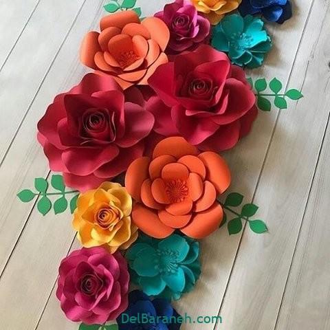 آموزش گل کاغذی (۴۱)