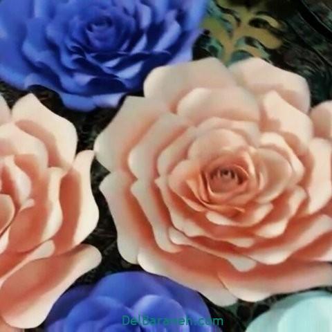 آموزش گل کاغذی (۴۳)