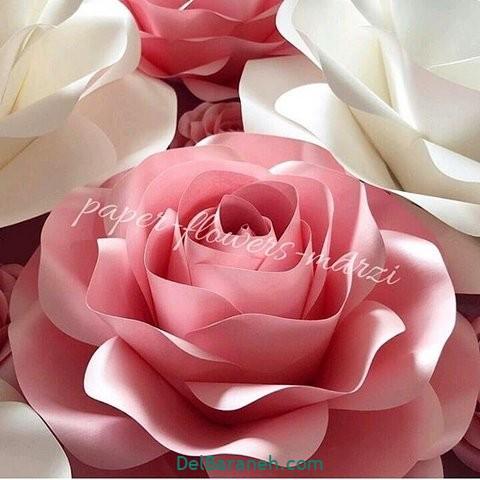 آموزش گل کاغذی (۴۶)