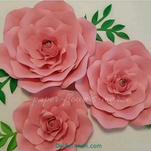 آموزش گل کاغذی (۴۷)