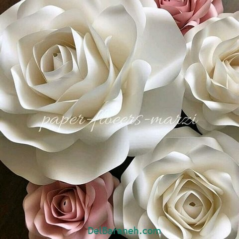 آموزش گل کاغذی (۴۸)