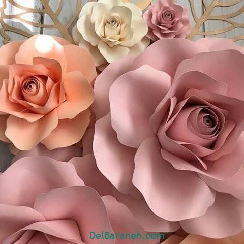 آموزش گل کاغذی (۵۰)
