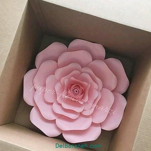 آموزش گل کاغذی (۸)