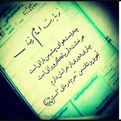 عکس نوشته امام رضا (۱۴)