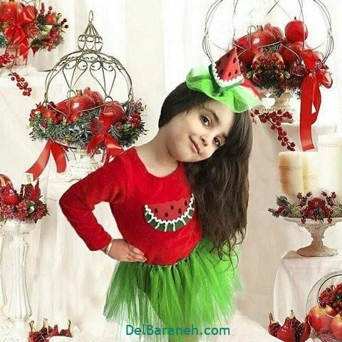 لباس دختر بچه برای شب یلدا(۱۷)