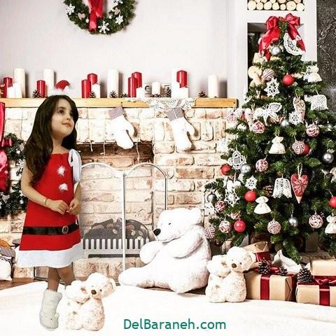 لباس دختر بچه کریسمس(۱۹)