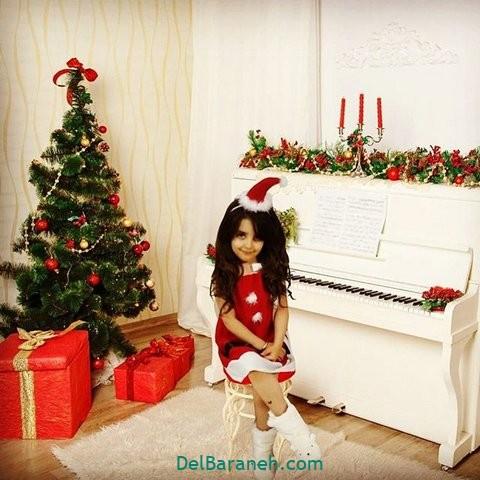 لباس دختر بچه کریسمس(۲۰)