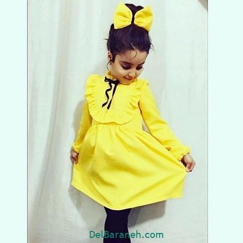 مدل لباس دختر بچه (۲)