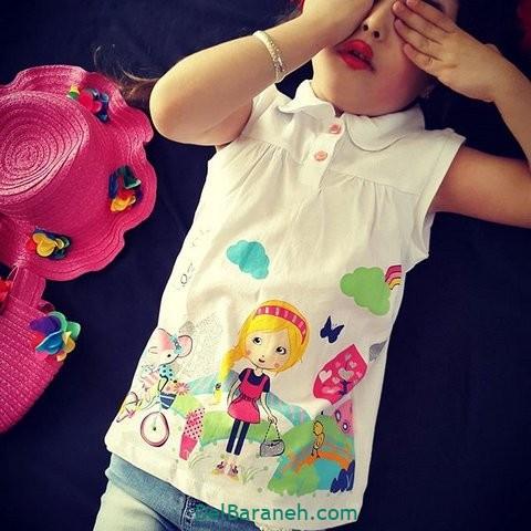 مدل لباس مجلسی بچگانه (۲)
