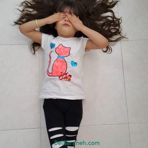 مدل لباس مجلسی بچگانه (۶)