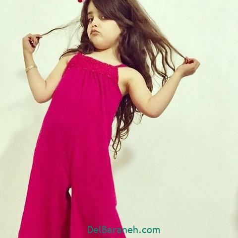 مدل لباس مجلسی بچگانه (۷)