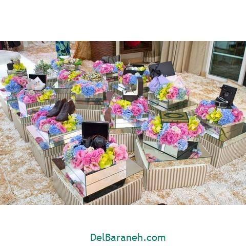تزیین عیدی عروس داماد (۱۲)