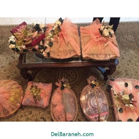 تزیین عیدی عروس داماد (۱۵)