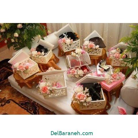 تزیین عیدی عروس داماد (۳)