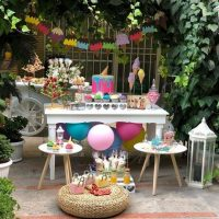 میز تولد همسر | ۵۰ ایده زیبا و عاشقانه برای تزیین میز تولد همسر + تم تولد همسر