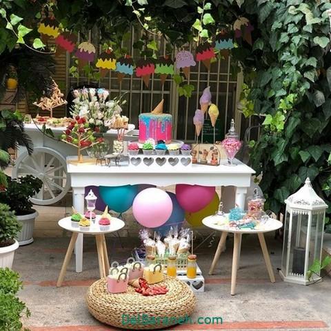تزیین میز تولد همسر (۱)