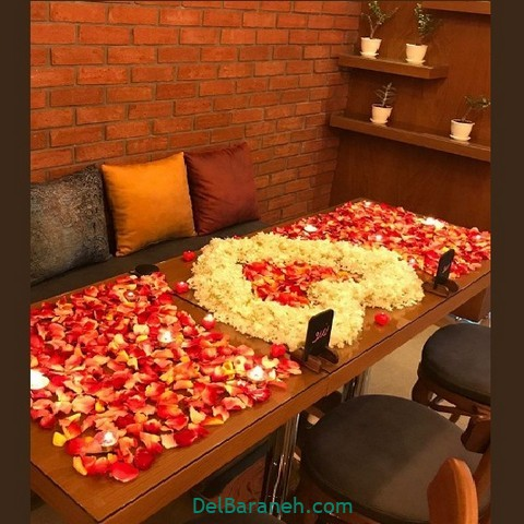 تزیین میز تولد همسر (۱۰)