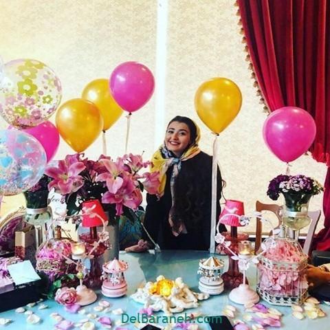 تزیین میز تولد همسر (۱۵)