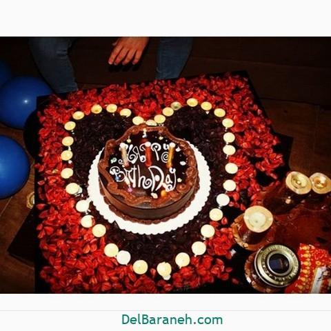 تزیین میز تولد همسر (۲۲)