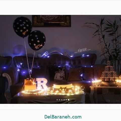 تزیین میز تولد همسر (۲۹)