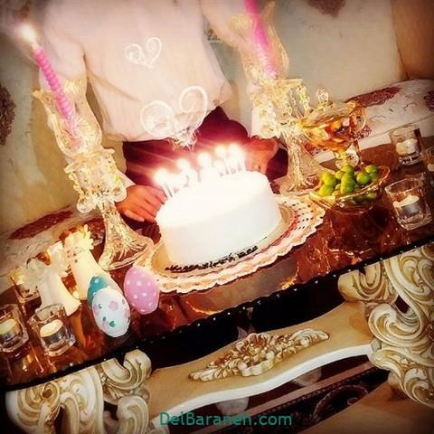 تزیین میز تولد همسر (۴)