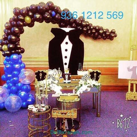 تزیین میز تولد همسر (۵)