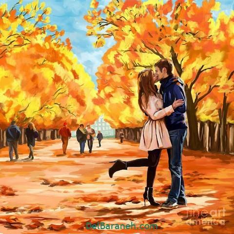 عکس عاشقانه پاییز (۴۰)