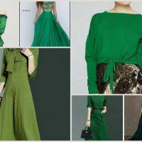 لباس سبز | ۵۰ مدل پیراهن ، لباس مجلسی ، لباس نکاح ، لباس عید و مانتو سبز