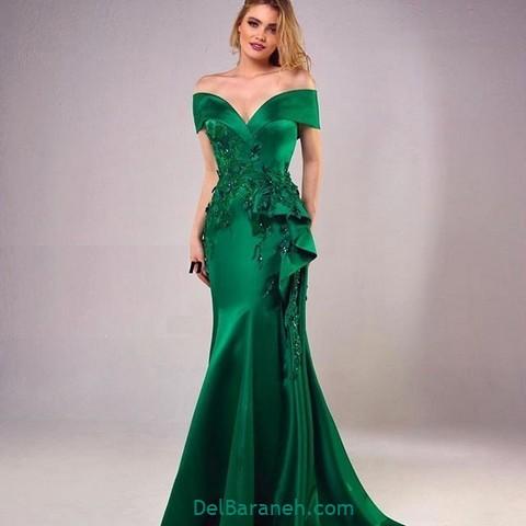لباس مجلسی سبز (۱۱)