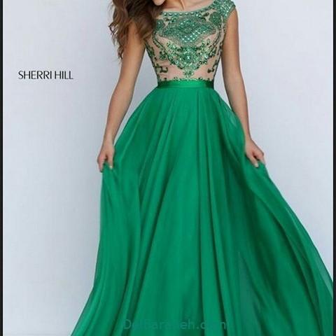 لباس مجلسی سبز (۱۵)
