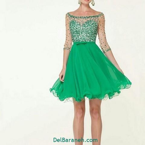 لباس مجلسی سبز (۱۶)