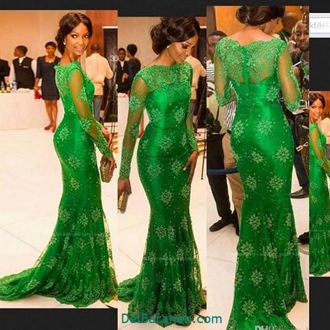 لباس مجلسی سبز (۱۷)