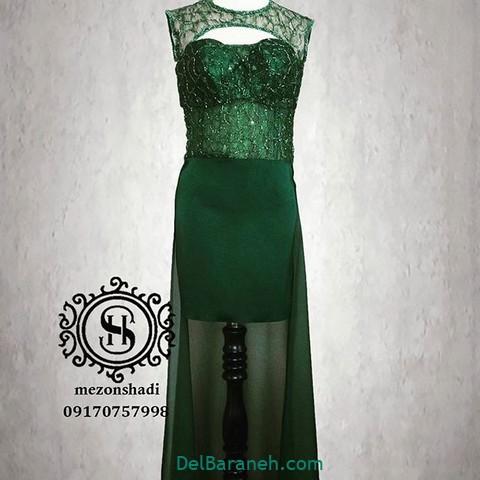 لباس مجلسی سبز (۱۹)