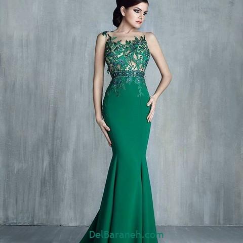 لباس مجلسی سبز (۲)