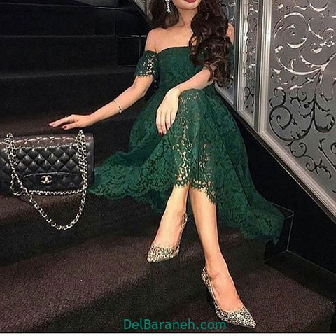 لباس مجلسی سبز (۲۲)