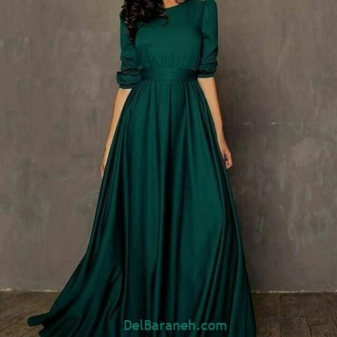 لباس مجلسی سبز (۳)