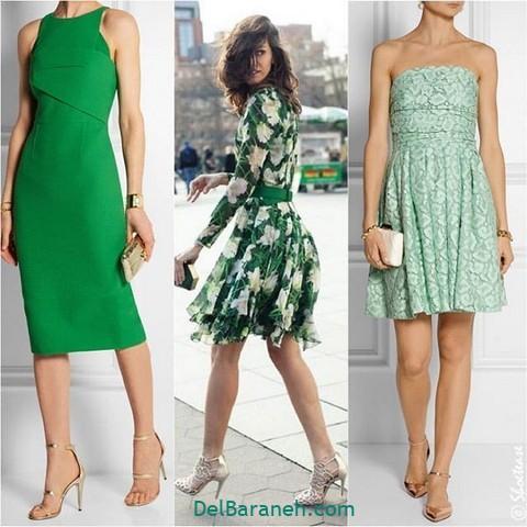 لباس مجلسی سبز (۵)