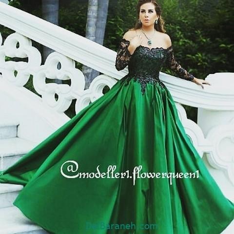 لباس مجلسی سبز (۶)