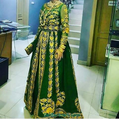 لباس مجلسی سبز (۷)