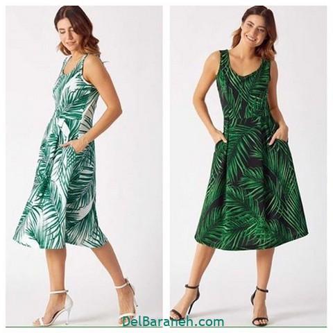 لباس مجلسی سبز (۸)
