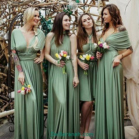 لباس مجلسی سبز (۹)