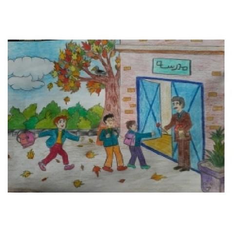 نقاشی اول مهر کودکان (۷)