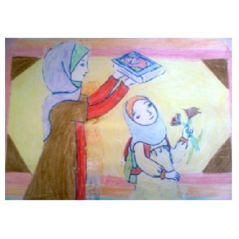 نقاشی اول مهر کودکان (۸)