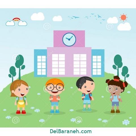 نقاشی شروع مدرسه (۱۵)