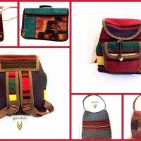 کیف گلیمی | ۳۵ مدل جامدادی و کیف و کوله طرح گلیم سنتی دخترانه