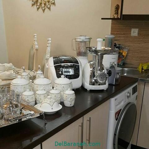 تزیین آشپزخانه عروس (۱۱)