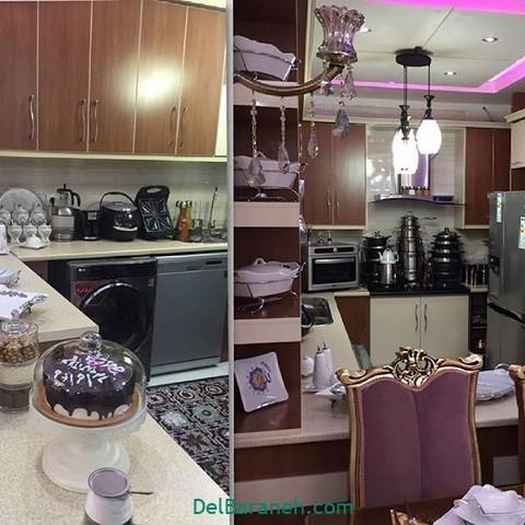 تزیین آشپزخانه عروس (۱۸)