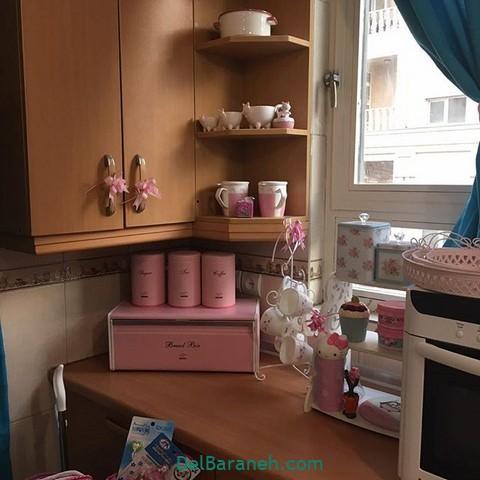 تزیین آشپزخانه عروس (۲۰)