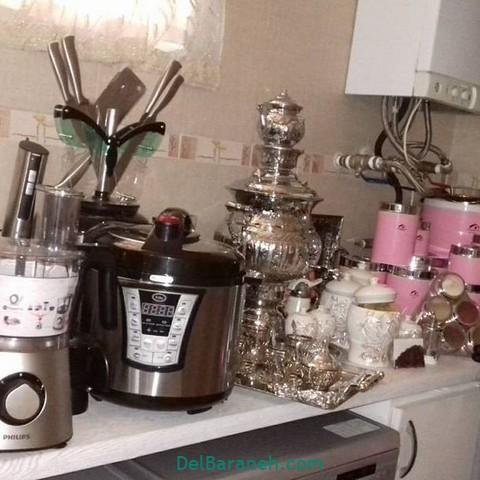 تزیین آشپزخانه عروس (۲۴)