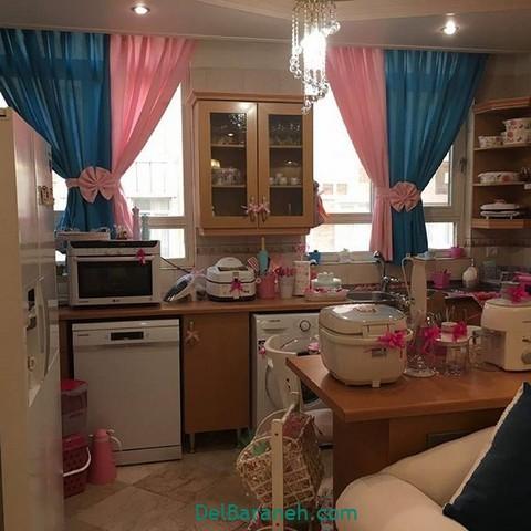 تزیین آشپزخانه عروس (۲۵)